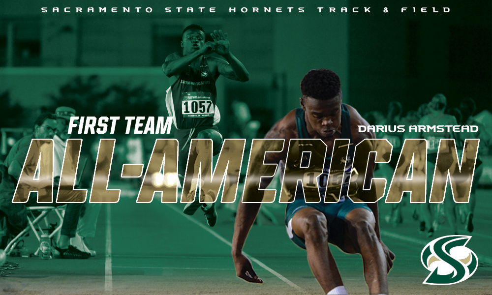 ARMSTEAD FINISHES SEVENTH IN TRIPLE JUMP; NAMED FIRST TEAM ALL-AMERICA