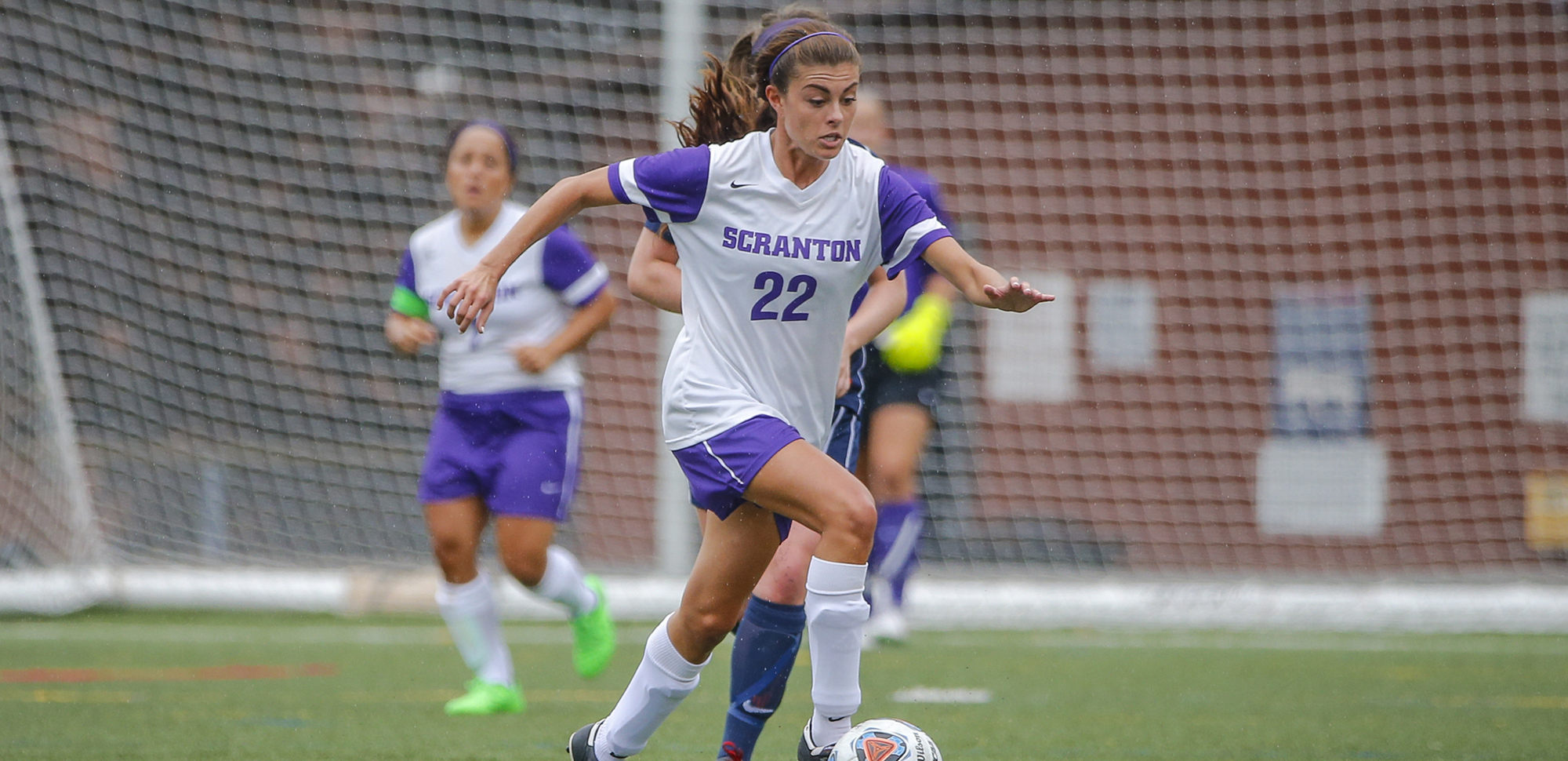 Senior forward Christina Akalski has been an all-region selection by the NSCAA in each of her first three seasons. She is one of eight seniors on this year's team.