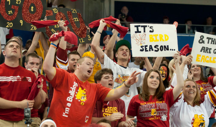 Ferris State Athletics Sets New Licensing Record