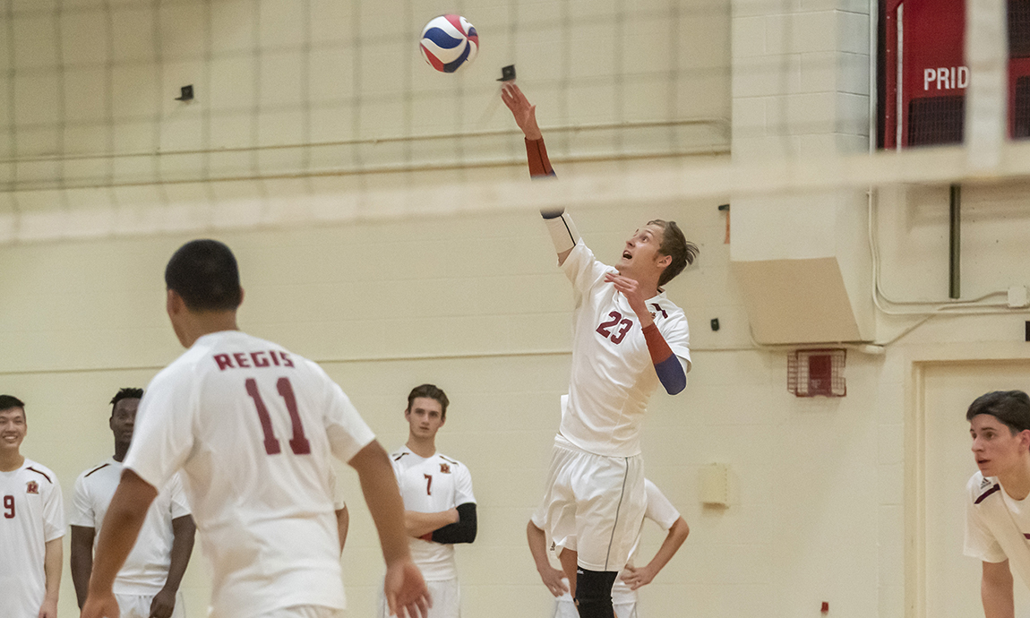 Pride Men's Volleyball Earns Third Straight Sweep