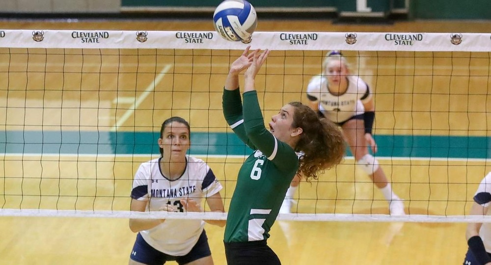 Volleyball Earns 3-0 Sweep Over League-Leading Green Bay