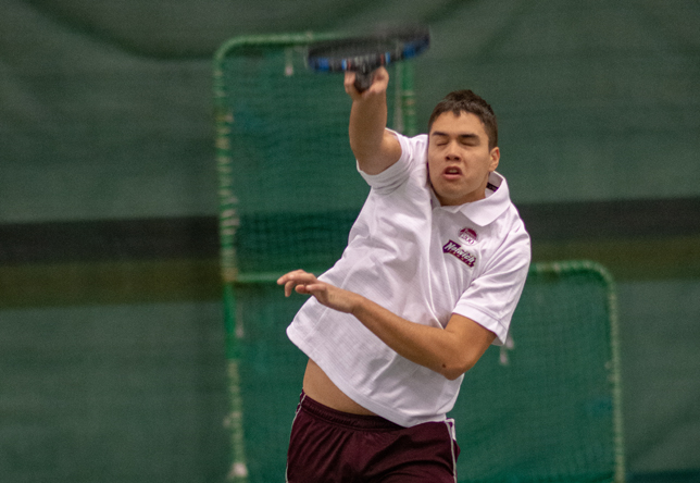 Men's Tennis: Norwich drops MCLA, 7-2 to start Spring Break trip