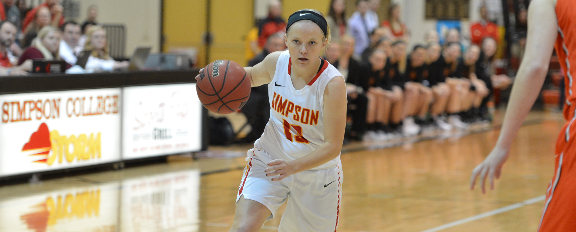 Megan Lankford went 6-for-6 from the free throw line in the final seconds of Simpson's win over Neb. Wesleyan.