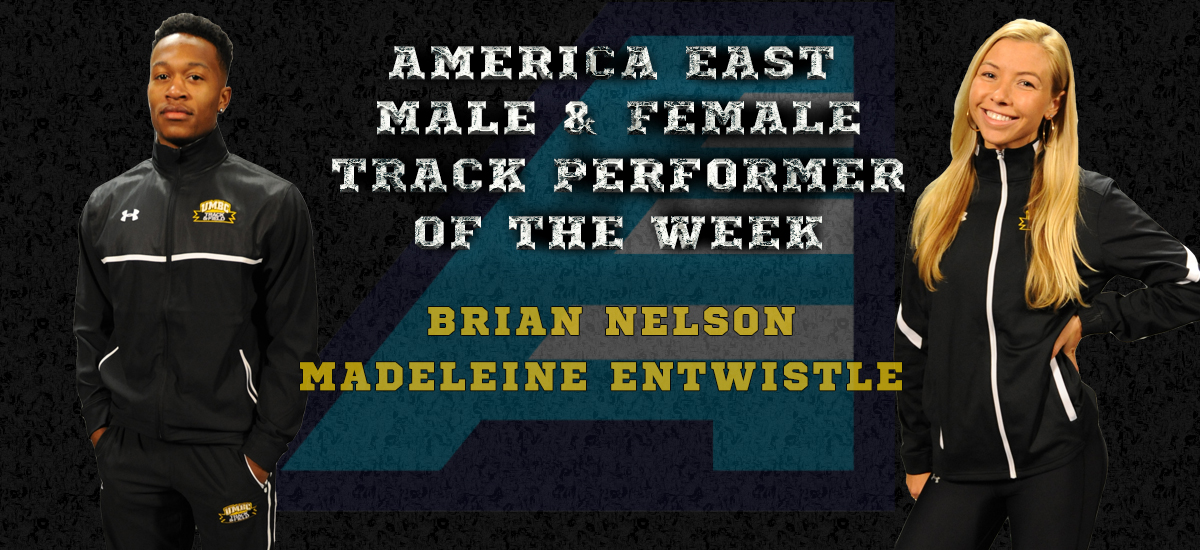 Nelson, Entwistle Named America East Track Performers of the Week