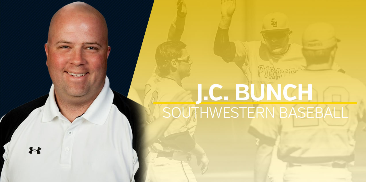 J.C. Bunch Named Southwestern Head Baseball Coach