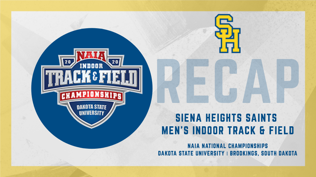 Four Saints Competed at the NAIA Indoor Championships