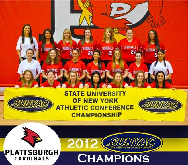 Throwback Thursday: Plattsburgh Softball Wins 2012 SUNYAC Title
