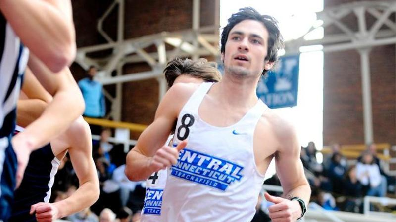 Men's T&F Competes at BU; Three CCSU Records Fall
