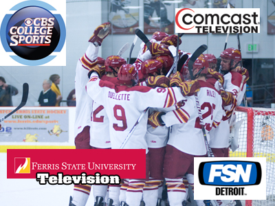 Ferris State Hockey To Make Several TV Appearances This Season