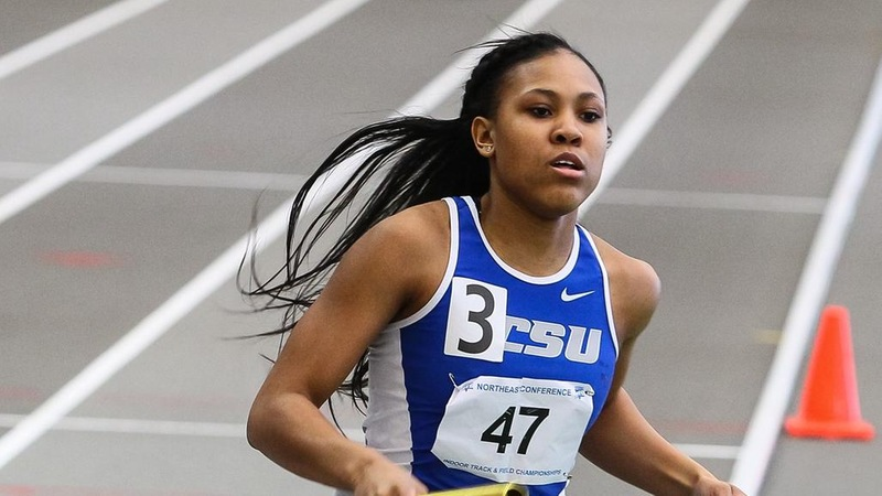 Women's Track Repeats as NEC Runner-Up, Nesmith Deemed MVP