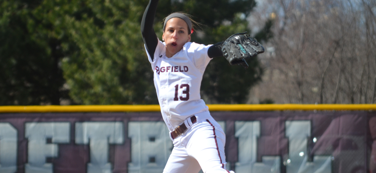 No. 20 Softball Splits With No. 19 MIT in NEWMAC Doubleheader