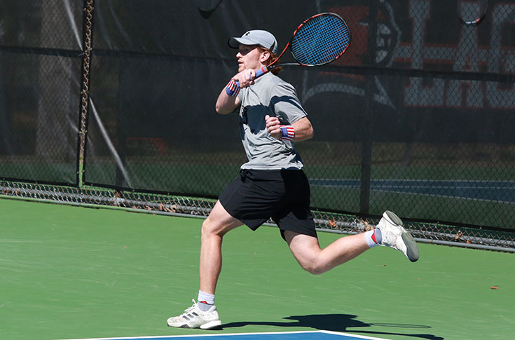 Men's Tennis: Panthers win third straight match; defeat Brevard 7-2
