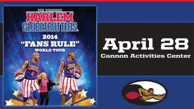 Harlem Globetrotters in Laie on April 28