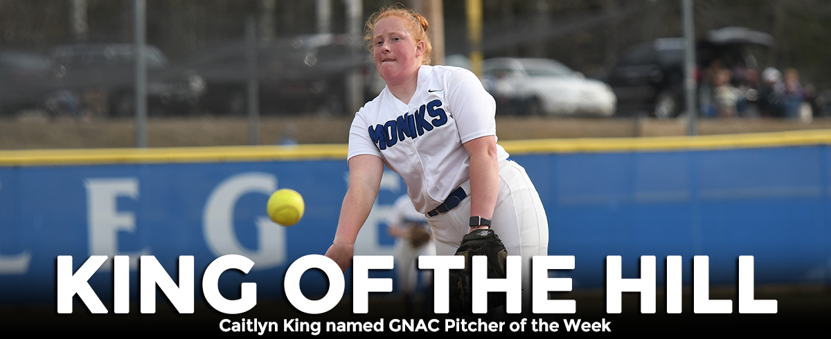 King Chosen as GNAC Pitcher of the Week