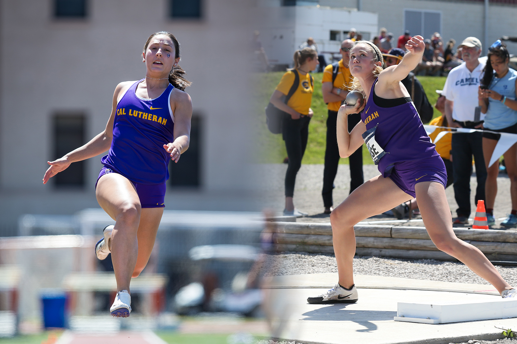 Guidetti Posts Best Long Jump Finish in CLU NCAA Championship History