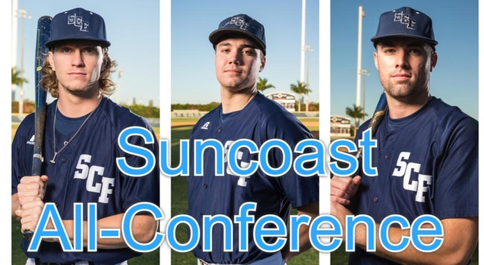 Baseball Lands Six on the Suncoast Conference All-Conference Team