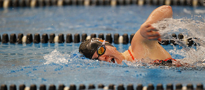 Swimming concludes regular season at Pacific