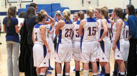Eagle women power past frigid Falcons