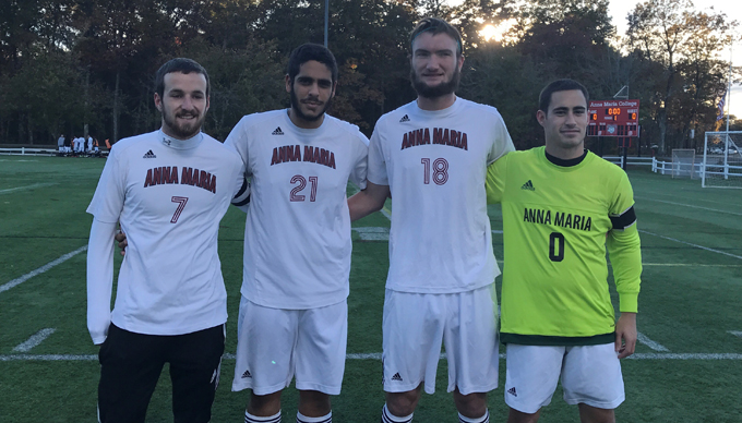 Men's Soccer Suffers 6-0 Loss to WPI in Season Finale
