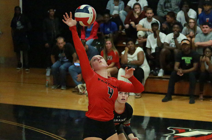 Volleyball: Panthers finish perfect 4-0 at Huntingdon Invitational