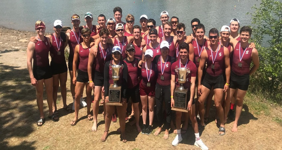 Men's Rowing Takes WIRA Titles with V8 and V4 Boats