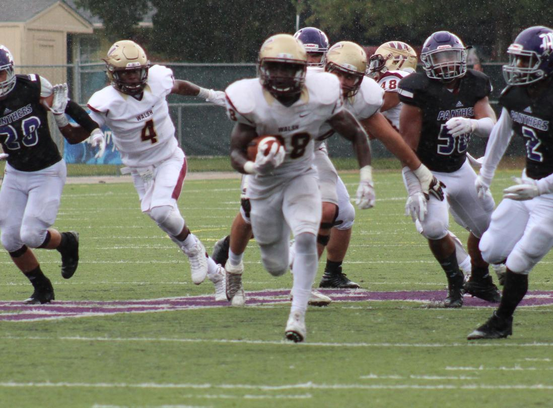 Walsh Runs Through Kentucky Wesleyan In Route