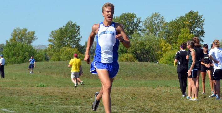 Men's Cross Country finishes fifth at home meet