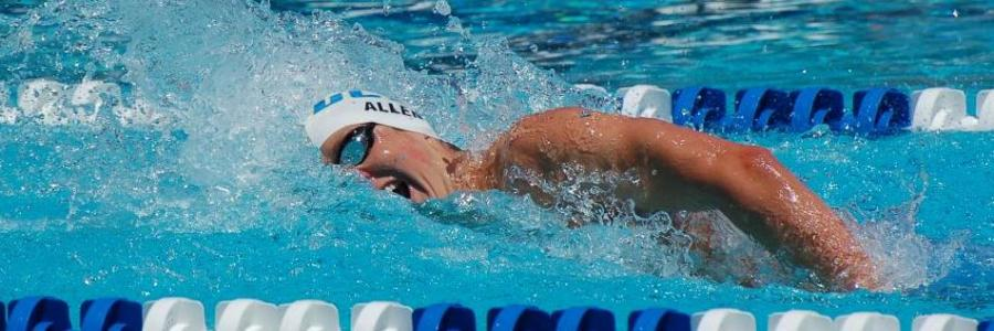 Men's Swimming Wraps Up Dual Schedule Against Stanford on Friday