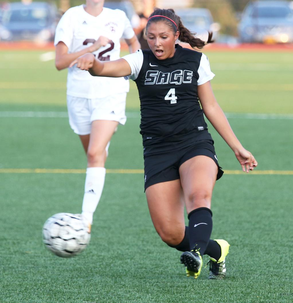 Sage falls in women's soccer, 1-0 to Keuka