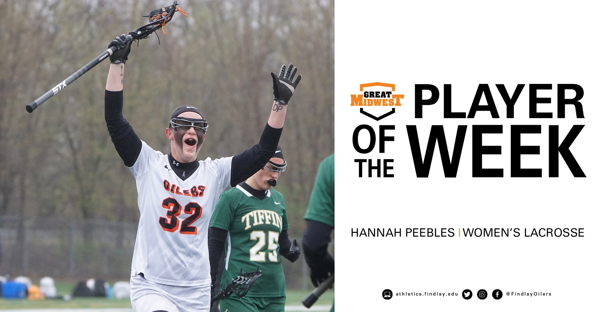 Peebles Named Player of the Week