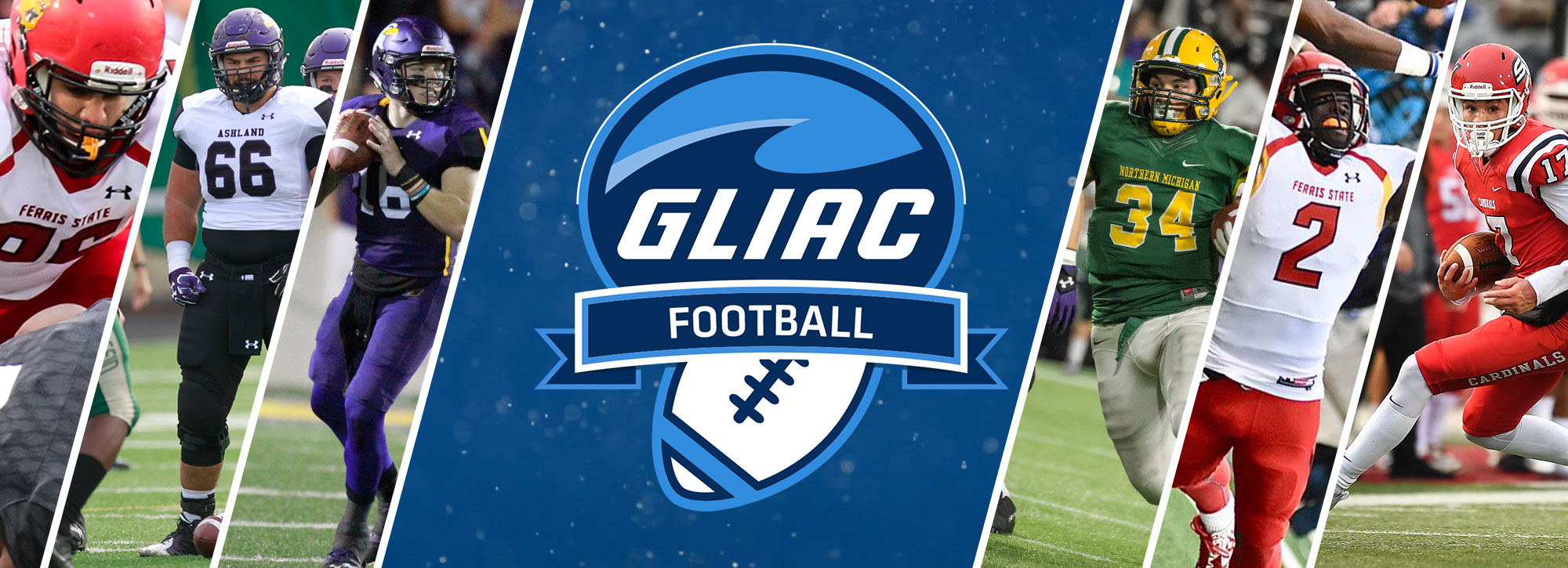 2017 All-GLIAC Football Teams, Player of the Year Awards Announced