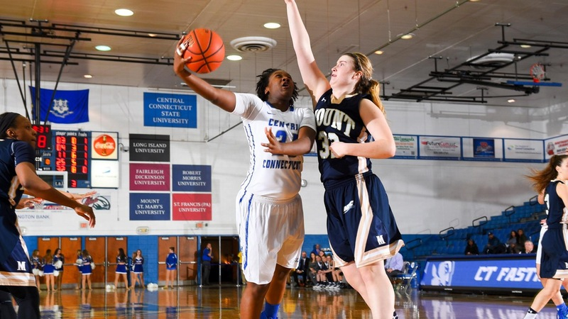 Mount Tops Women's Basketball in Rematch, 81-66, Saturday