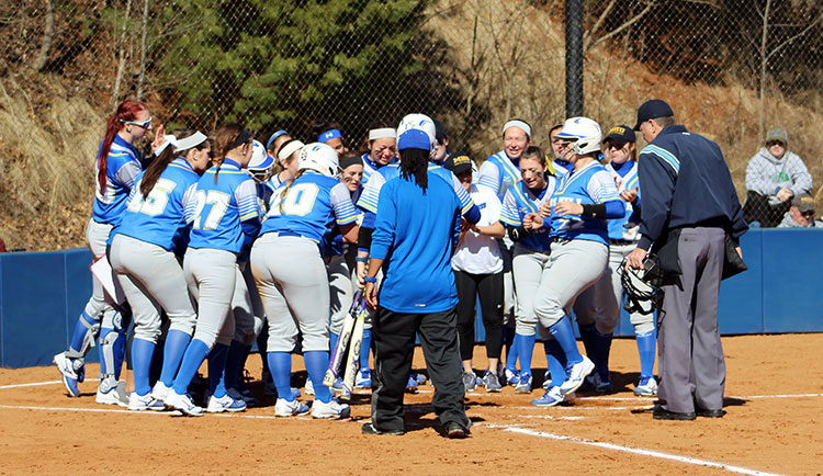 Softball Earns Split With Lees-McRae
