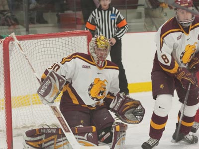 The Ferris State men's ice hockey team will play 19 home games during the 2009-10 regular season.