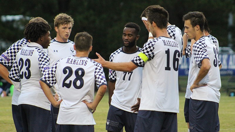 Men's Soccer Unable to Get By Tigers