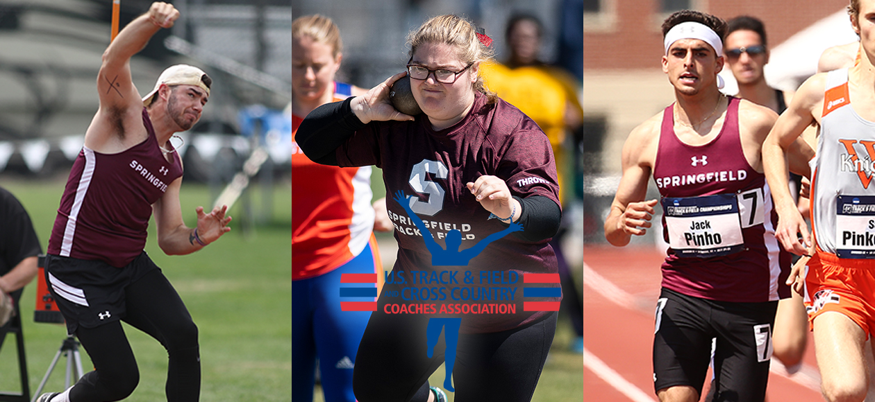 Three Track and Field Student-Athletes Earn USTFCCCA All-Region Honors