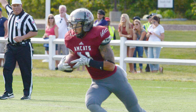 Coast Guard Takes 34-0 Victory in Season Opener