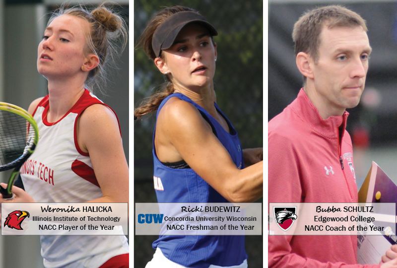 2018 NACC Women's Tennis Awards Announced