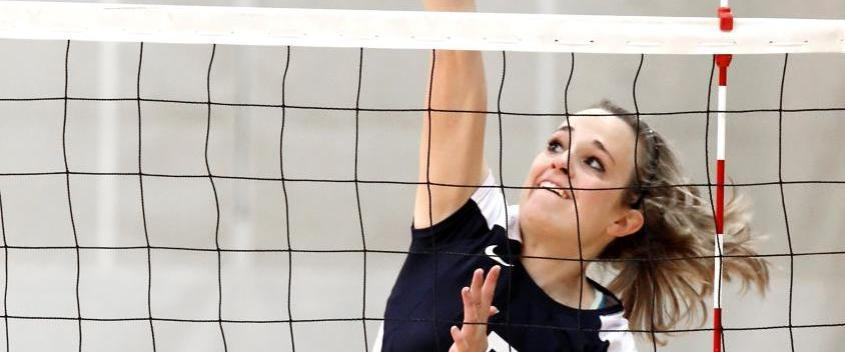 Balanced attack leads volleyball past Lasell, 3-0