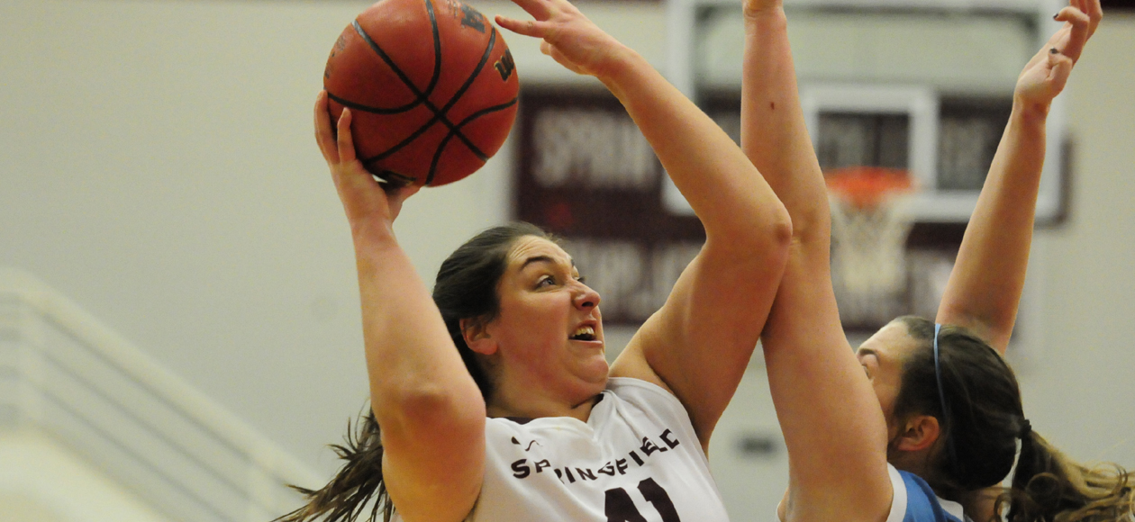 Strong Finish Helps Women's Basketball Complete Comeback Win Over Coast Guard