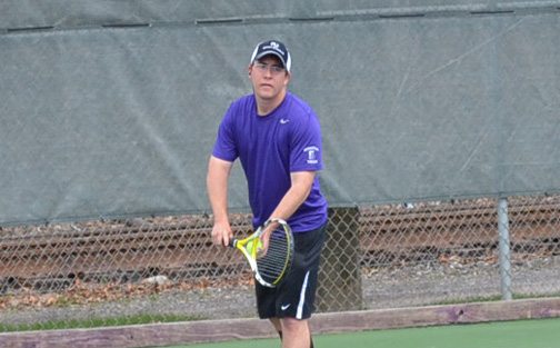 Senior Bennett Kelley posted a pair of victories to help Scranton defeat Juniata in a Landmark Conference semifinal on Tuesday.