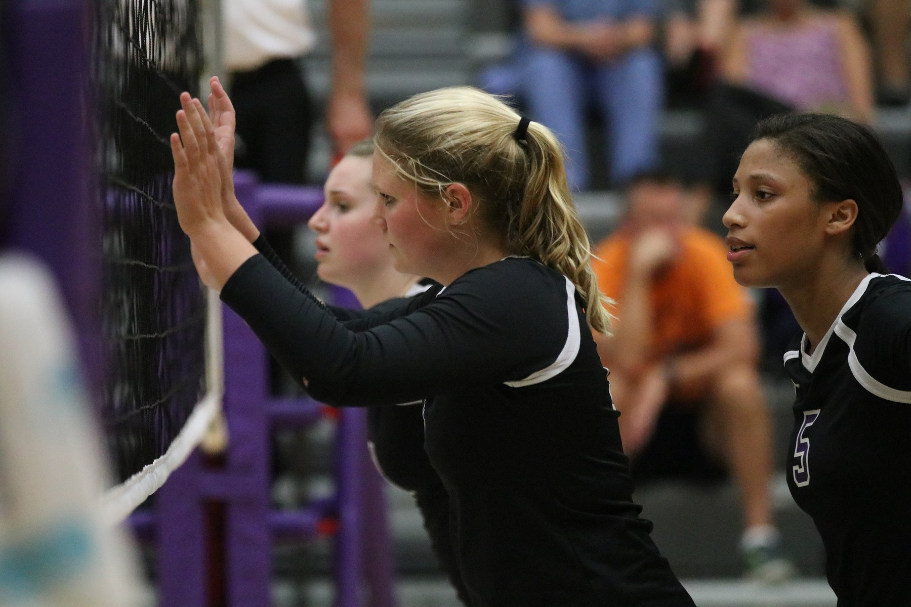 Volleyball Ends Season in Sectional