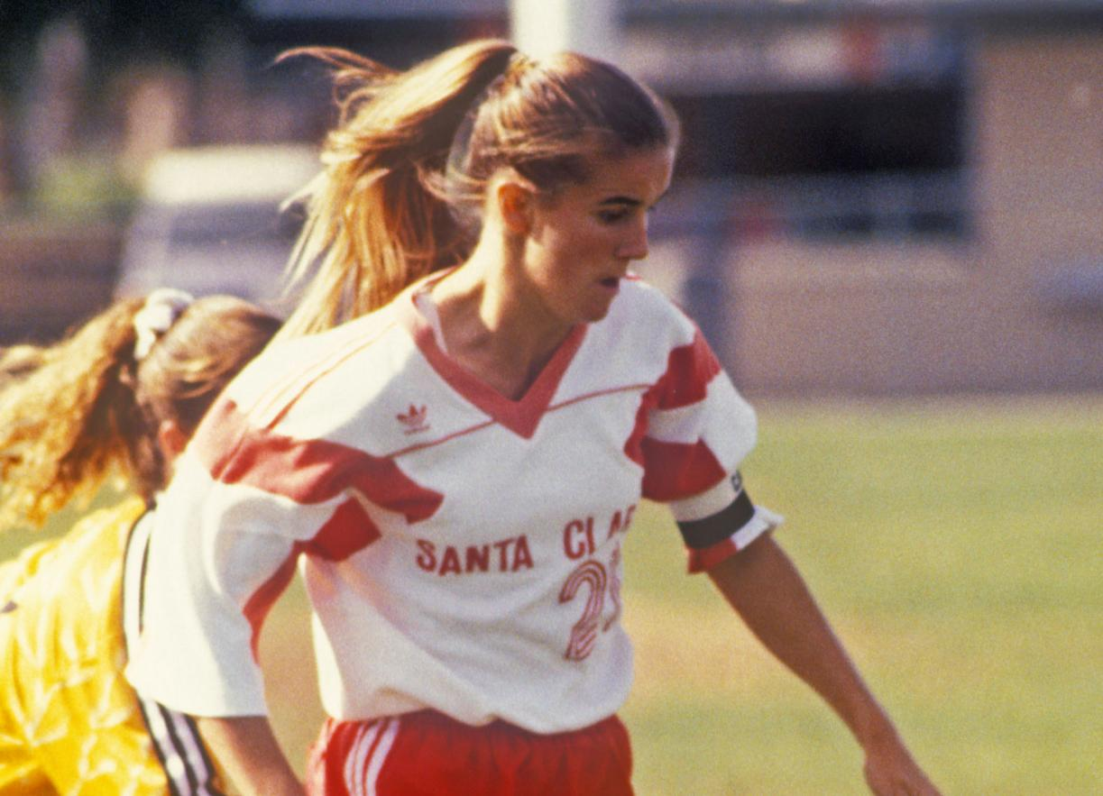 Santa Clara To Honor Former Bronco And World Cup Champion Brandi Chastain At Stanford Game