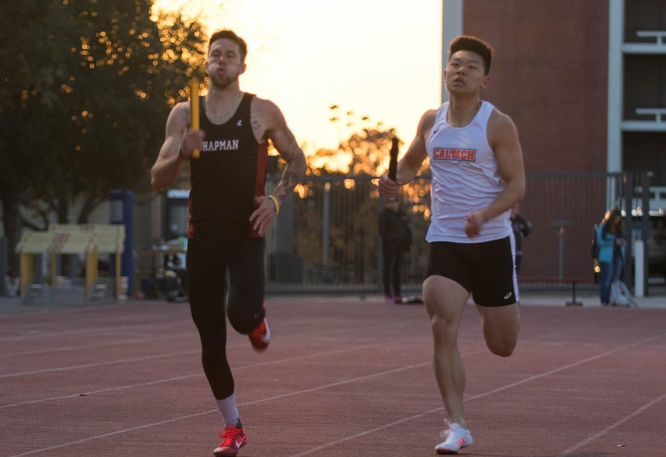 Men's Track & Field Fills Seasons Bests at Oxy