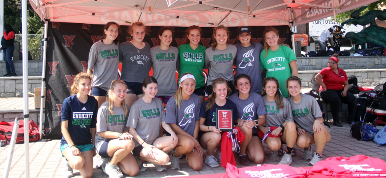 Women's Cross Country Wins York College Invitational, Fossa Finishes First Overall