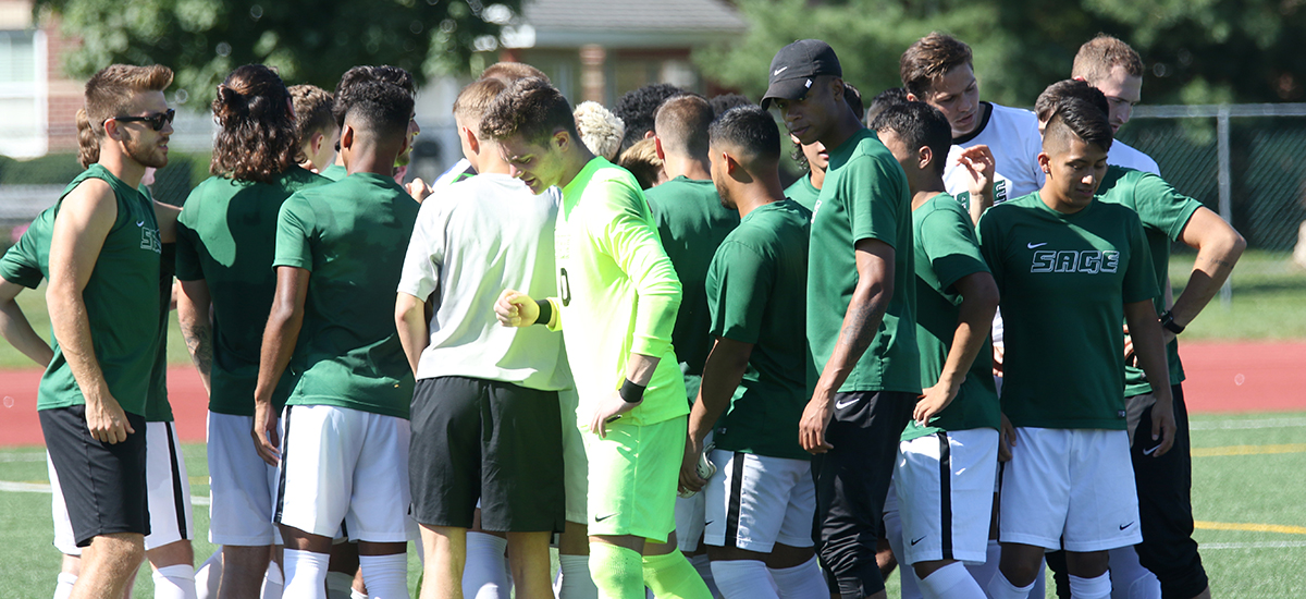 Sage men's soccer team to hold Boys' Soccer ID Clinic Nov. 3