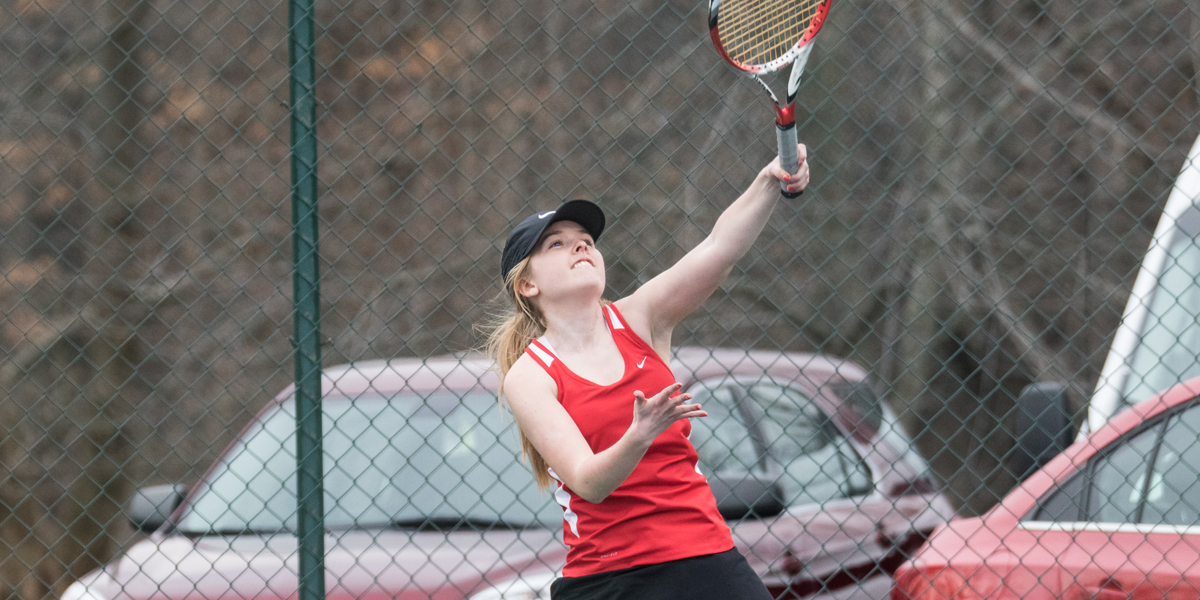 Photo for Women's tennis earns 5-4 victory over Cornerstone