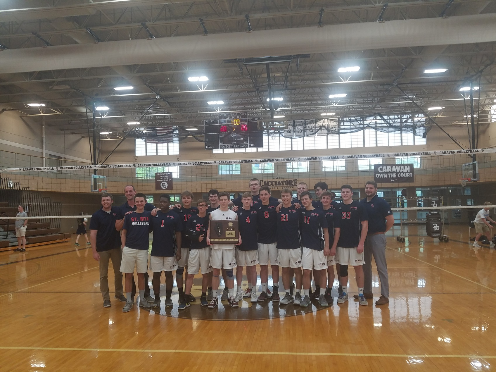 Congrats to our Sectional Champions! Volleyball is headed to State for the 1st time since 2012!
