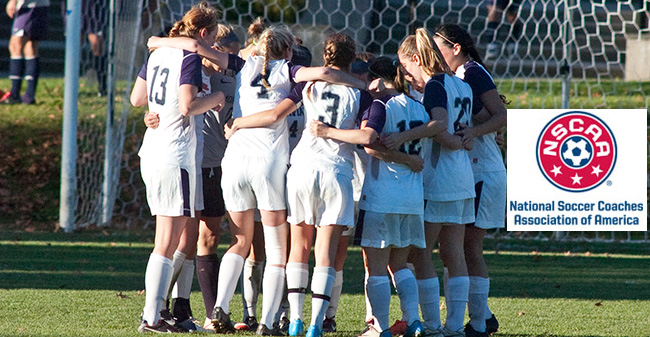 Women's Soccer Earns 2011-12 NSCAA Team Academic Award