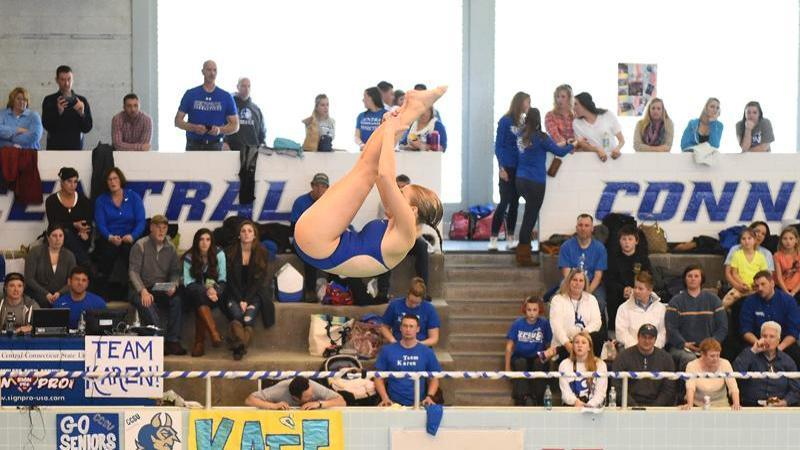 New Hampshire Tops Women's Swimming and Diving on Saturday